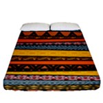 African Tribal Mix Fitted Sheet (Queen Size)