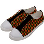 Colourful Kente Women s Low Top Canvas Sneakers