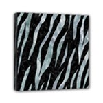 SKIN3 BLACK MARBLE & ICE CRYSTALS (R) Mini Canvas 6  x 6