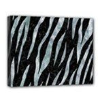 SKIN3 BLACK MARBLE & ICE CRYSTALS (R) Canvas 14  x 11