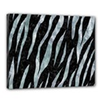 SKIN3 BLACK MARBLE & ICE CRYSTALS (R) Canvas 20  x 16