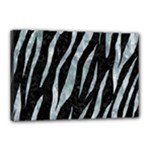 SKIN3 BLACK MARBLE & ICE CRYSTALS (R) Canvas 18  x 12