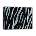 SKIN3 BLACK MARBLE & ICE CRYSTALS (R) Deluxe Canvas 16  x 12