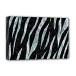 SKIN3 BLACK MARBLE & ICE CRYSTALS (R) Deluxe Canvas 18  x 12