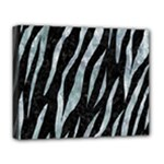 SKIN3 BLACK MARBLE & ICE CRYSTALS (R) Deluxe Canvas 20  x 16