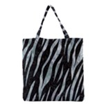 SKIN3 BLACK MARBLE & ICE CRYSTALS (R) Grocery Tote Bag