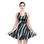 SKIN3 BLACK MARBLE & ICE CRYSTALS (R) Reversible Skater Dress