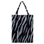 SKIN3 BLACK MARBLE & ICE CRYSTALS (R) Classic Tote Bag