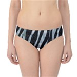 SKIN3 BLACK MARBLE & ICE CRYSTALS (R) Hipster Bikini Bottoms