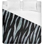 SKIN3 BLACK MARBLE & ICE CRYSTALS (R) Duvet Cover (King Size)