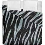 SKIN3 BLACK MARBLE & ICE CRYSTALS (R) Duvet Cover Double Side (King Size)