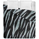 SKIN3 BLACK MARBLE & ICE CRYSTALS (R) Duvet Cover Double Side (California King Size)