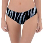 SKIN3 BLACK MARBLE & ICE CRYSTALS (R) Reversible Classic Bikini Bottoms