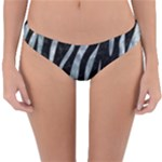SKIN3 BLACK MARBLE & ICE CRYSTALS (R) Reversible Hipster Bikini Bottoms