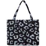 SKIN5 BLACK MARBLE & ICE CRYSTALS Mini Tote Bag