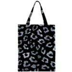 SKIN5 BLACK MARBLE & ICE CRYSTALS Zipper Classic Tote Bag