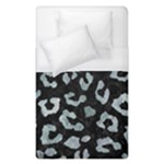 SKIN5 BLACK MARBLE & ICE CRYSTALS Duvet Cover (Single Size)