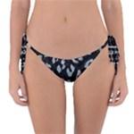 SKIN5 BLACK MARBLE & ICE CRYSTALS Reversible Bikini Bottom