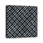 WOVEN2 BLACK MARBLE & ICE CRYSTALS (R) Mini Canvas 6  x 6