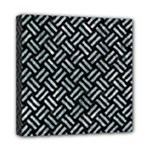 WOVEN2 BLACK MARBLE & ICE CRYSTALS (R) Mini Canvas 8  x 8