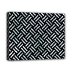 WOVEN2 BLACK MARBLE & ICE CRYSTALS (R) Canvas 10  x 8