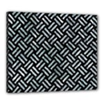 WOVEN2 BLACK MARBLE & ICE CRYSTALS (R) Canvas 24  x 20