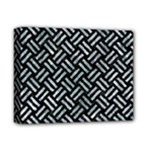 WOVEN2 BLACK MARBLE & ICE CRYSTALS (R) Deluxe Canvas 14  x 11