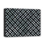 WOVEN2 BLACK MARBLE & ICE CRYSTALS (R) Deluxe Canvas 16  x 12