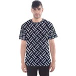WOVEN2 BLACK MARBLE & ICE CRYSTALS (R) Men s Sports Mesh Tee