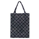 WOVEN2 BLACK MARBLE & ICE CRYSTALS (R) Classic Tote Bag