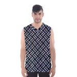WOVEN2 BLACK MARBLE & ICE CRYSTALS (R) Men s Basketball Tank Top
