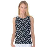 WOVEN2 BLACK MARBLE & ICE CRYSTALS (R) Women s Basketball Tank Top