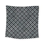 WOVEN2 BLACK MARBLE & ICE CRYSTALS (R) Square Tapestry (Small)