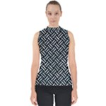 WOVEN2 BLACK MARBLE & ICE CRYSTALS (R) Shell Top
