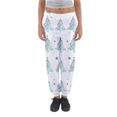 Christmas Tree   Pattern Women s Jogger Sweatpants by Valentinaart