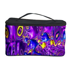 Melted Fractal 1a Cosmetic Storage Case by MoreColorsinLife