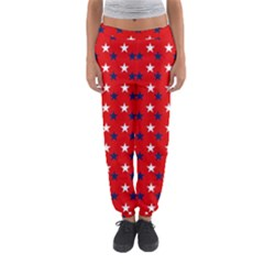 Patriotic Red White Blue Usa Women s Jogger Sweatpants by Celenk