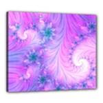 Delicate Canvas 24  x 20