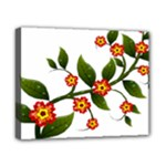 Flower Branch Nature Leaves Plant Canvas 10  x 8
