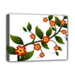Flower Branch Nature Leaves Plant Deluxe Canvas 16  x 12