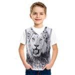 Lion Wildlife Art And Illustration Pencil Kids  SportsWear