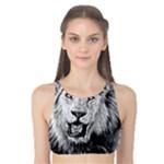Lion Wildlife Art And Illustration Pencil Tank Bikini Top