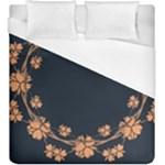 Floral Vintage Royal Frame Pattern Duvet Cover (King Size)