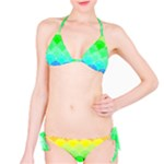 art deco rain bow Bikini Set