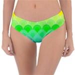 art deco rain bow Reversible Classic Bikini Bottoms