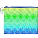 art deco rain bow Canvas Cosmetic Bag (XXXL)