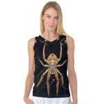 Insect Macro Spider Colombia Women s Basketball Tank Top