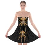 Insect Macro Spider Colombia Strapless Bra Top Dress
