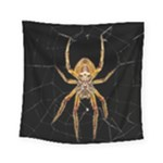 Insect Macro Spider Colombia Square Tapestry (Small)