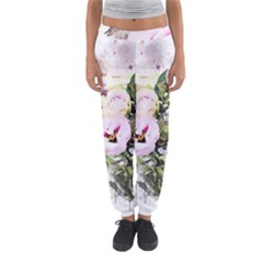 Flowers Bouquet Art Abstract Women s Jogger Sweatpants by Celenk